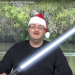 CarpQuest's Christmas Greetings with NGT's Lightsaber