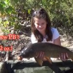 Olivia with a new PB common carp